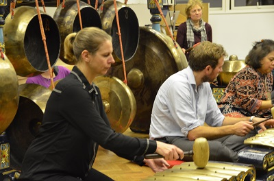 Everyone can play Gamelan