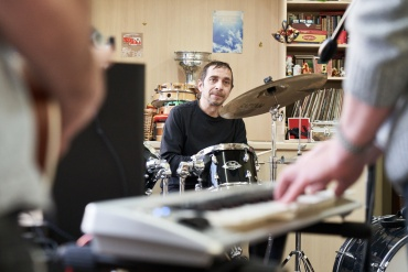 Loophole Music – providing stimulation and a safe space for self-expression at Bethlem Royal Hospital