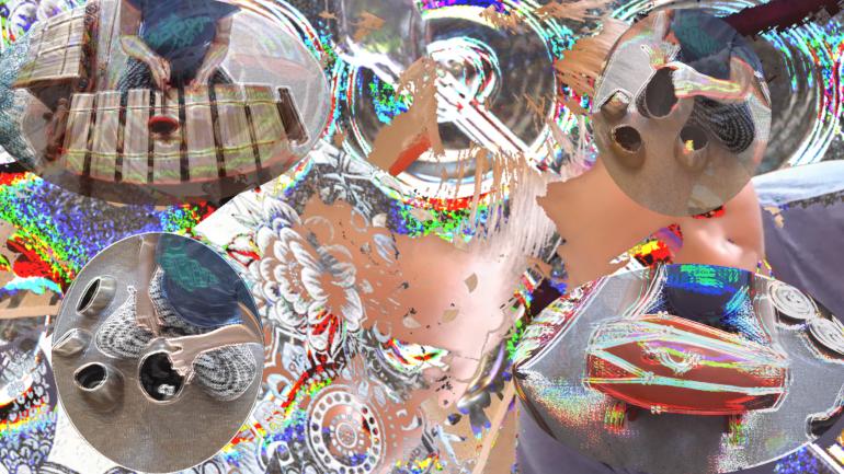 Eternity Bleeps' video mix of 'Gamelan Playground'